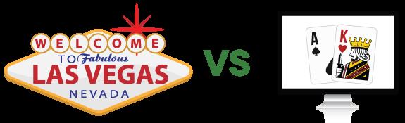 live poker vs on-line